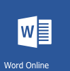 Word Online Icon