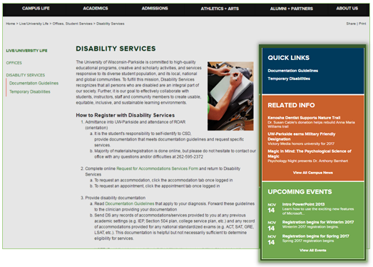 Right Column Widgets